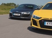 New Audi R8 Meets Old Audi R8 and The Real Winners Are Us - image 882406