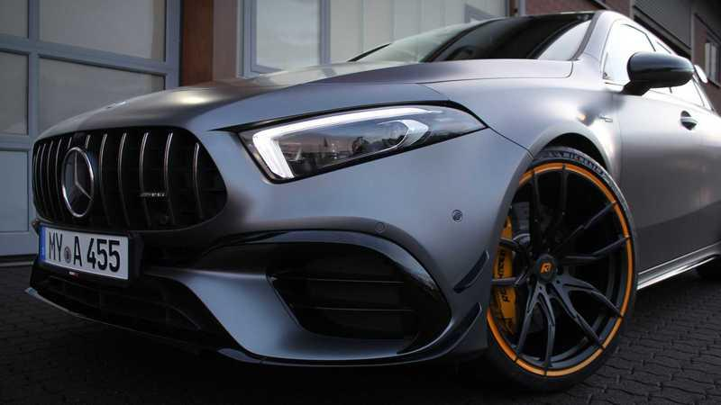 Renntech Can Push the Mercedes-AMG A45 Up to Nearly 600 Horsepower