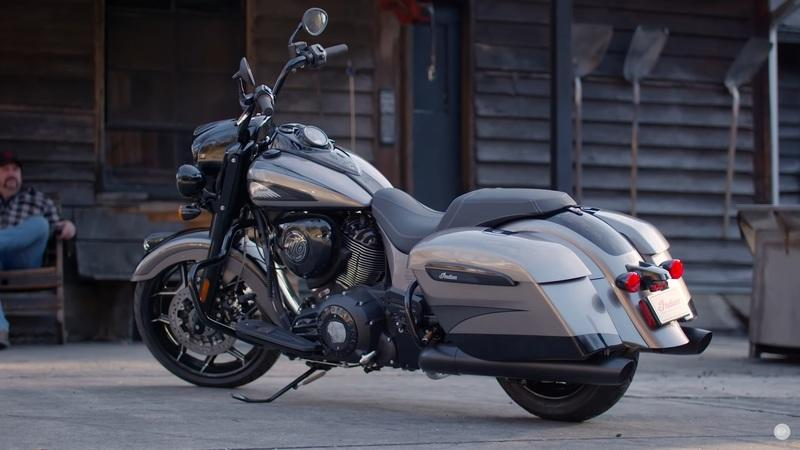 2020 Indian Motorcycle Jack Daniel's Limited Edition Indian Springfield Dark Horse
