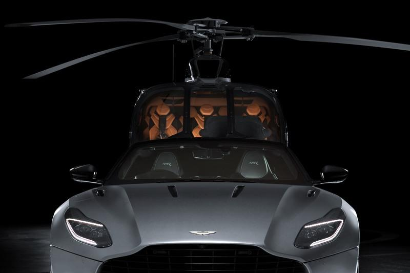 Take Your Love for British Luxury to the Sky with the Airbus ACH130 Aston Martin Edition