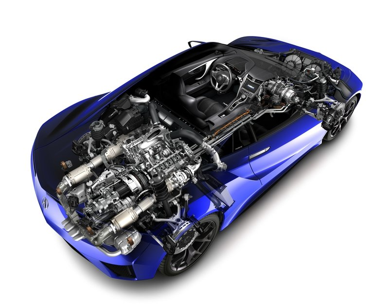 The Engine Inside the Acura NSX Is Way More Intricate Than You Thought