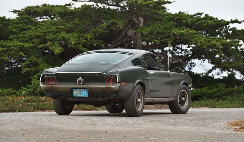 The Original 1968 Bullitt Mustang Became the Most Expensive Mustang In History