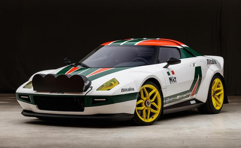 This Absolutely Sick MAT Stratos Coupe Can Be Yours For Around $1 Million