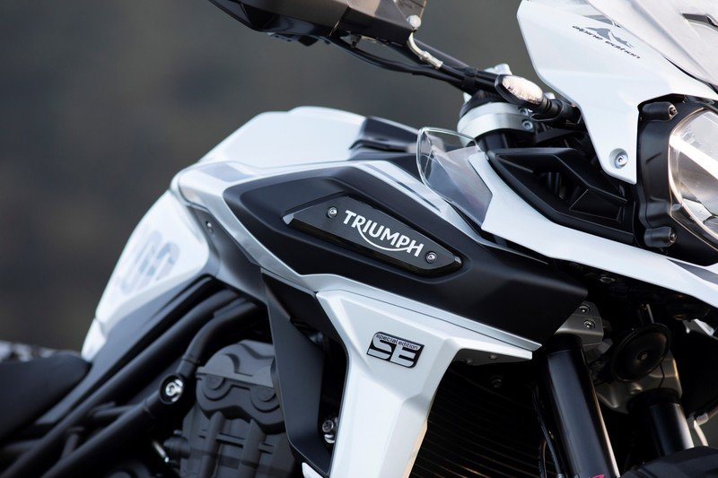 Triumph gave their swashbuckler Tiger 1200 machine two special editions for 2020