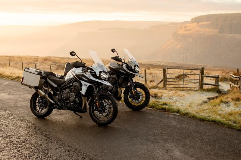 Triumph gave their swashbuckler Tiger 1200 machine two special editions for 2020 Exterior High Resolution Wallpaper quality - image 882008