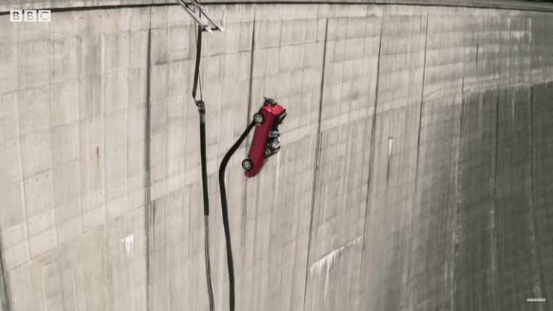 Top Gear Season 28 Kicks Off in the Most Epic Way Possible - Car Bungee Jumping