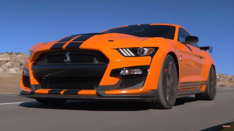 Video: 2020 Mustang Shelby GT500 Races Camaro ZL1 1LE and Hellcat Redeye - image 883090