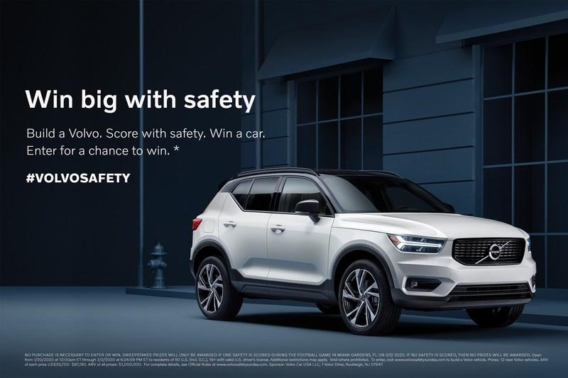 Volvo's Already Getting in on The SuperBowl Fever with The Contest of a Lifetime