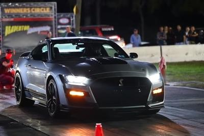 Watch a 940-Horsepower Mustang Shelby GT500 Pull Off a 9-Second Quarter Mile Run