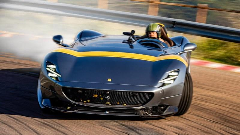Watch Nico Rosberg Tear Up the Fiorano Track in a Ferrari Monza SP1