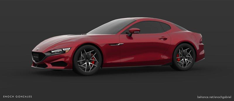 We Demand a Mazda Sports Car That Looks Like This Exterior Computer Renderings and Photoshop - image 882472