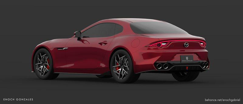 We Demand a Mazda Sports Car That Looks Like This Exterior Computer Renderings and Photoshop - image 882476