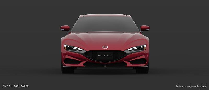We Demand a Mazda Sports Car That Looks Like This Exterior Computer Renderings and Photoshop - image 882478