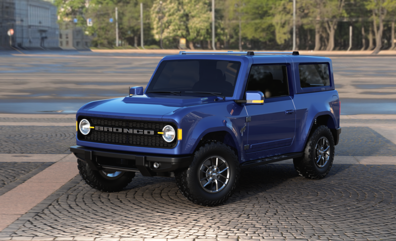 What If the New Ford Bronco Looked Like This?