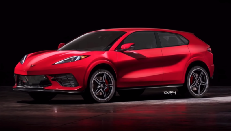 Would You Buy a Chevrolet Corvette SUV If It Looked Like This?