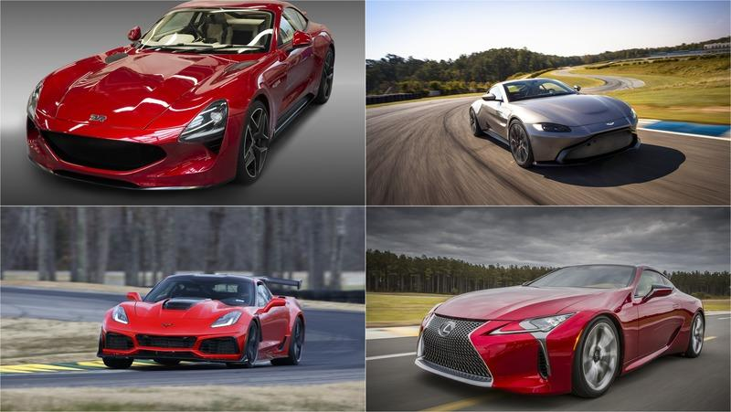 10 Best V-8 Sports Cars