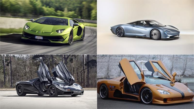 10 Fastest Cars in the World Ranked Fastest to Slowest