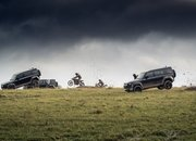 The 2020 Land Rover Defender Takes a Bashing In James Bond No Time To Die Rehearsals - image 886647