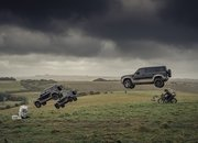 The 2020 Land Rover Defender Takes a Bashing In James Bond No Time To Die Rehearsals - image 886644