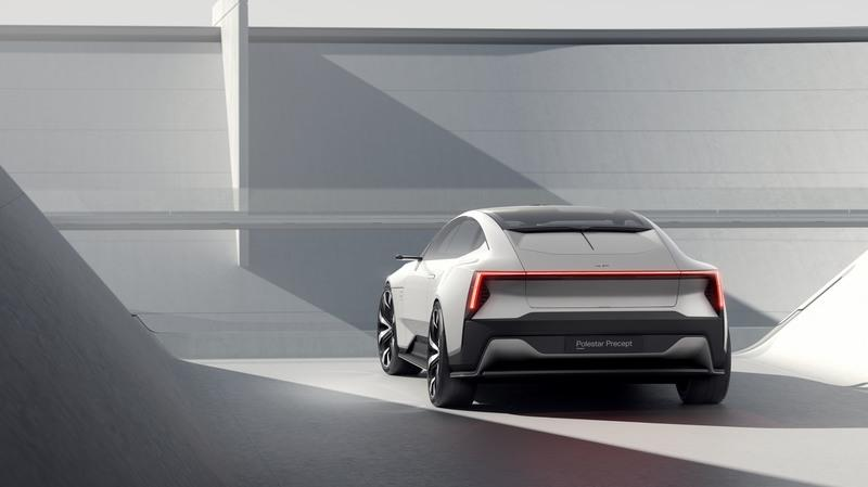 The Polestar 3 SUV Will Draw Excessive Amounts of DNA from the Precept Concept Exterior - image 888373