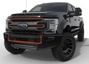 Harley-Davidson lends its flair to the Ford F-250 truck, courtesy the Fat Boy 30th Anniversary - image 886312