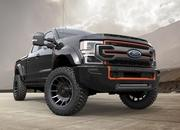 Harley-Davidson lends its flair to the Ford F-250 truck, courtesy the Fat Boy 30th Anniversary - image 886319