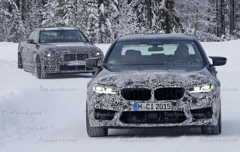 The 2024 BMW M5 Will Be Proof That Electric M Models Are Possible or Will It? Exterior Spyshots - image 887293