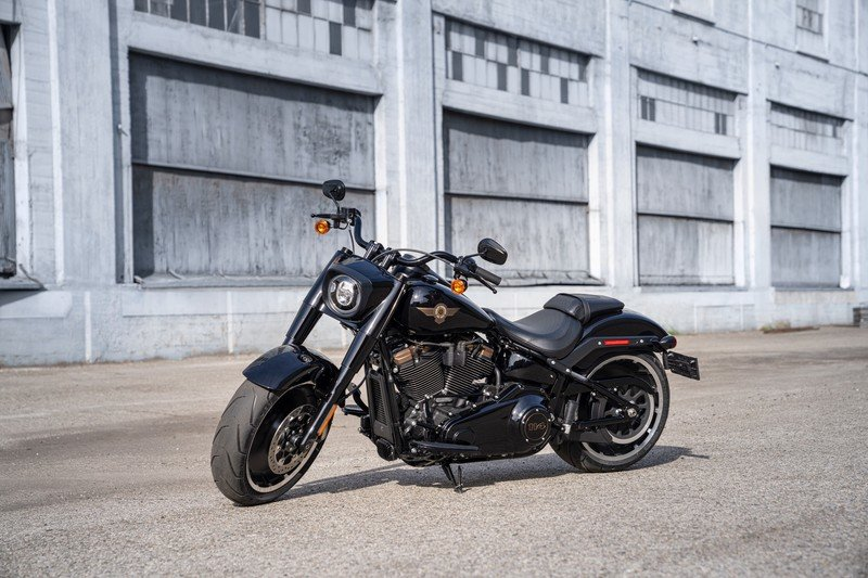 Harley-Davidson celebrates 30 years of its iconic Fat Boy cloaked in Darth Vader style