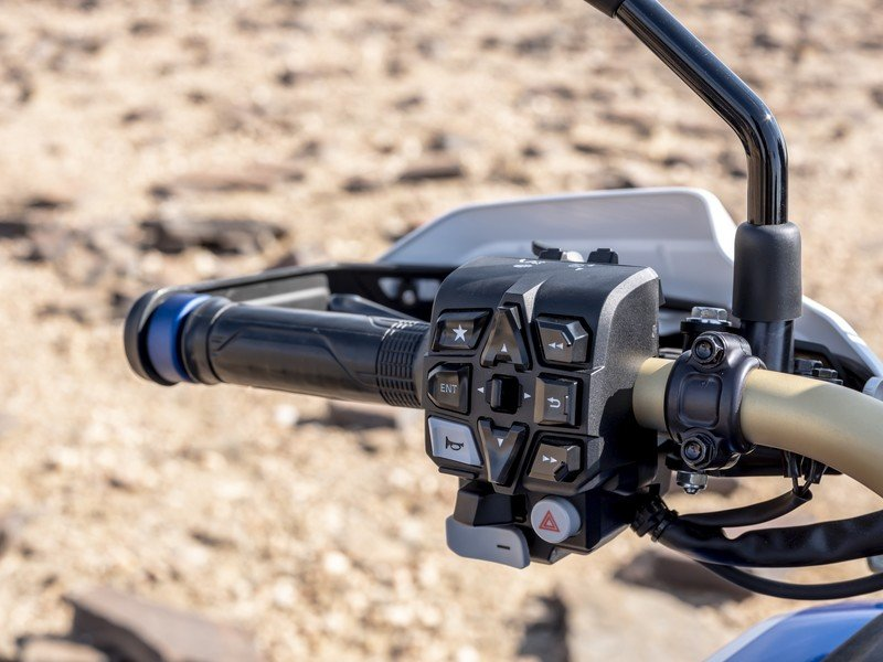 Honda will let you play with its 1100L Africa Twin's intimidating instrument console on a simulator - image 883386