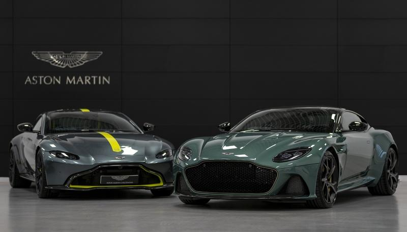 2020 Aston Martin DBS '59' and Vantage '59'