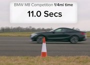 BMW Fan Boys Will Love This M5 vs M8 Drag Race - image 887278