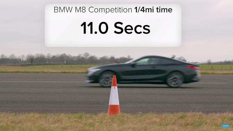BMW Fan Boys Will Love This M5 vs M8 Drag Race