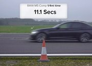 BMW Fan Boys Will Love This M5 vs M8 Drag Race - image 887279
