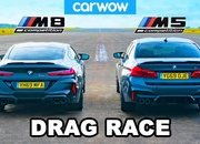 BMW Fan Boys Will Love This M5 vs M8 Drag Race - image 887280