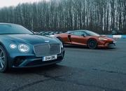 Can the Bentley Continental GT V8 beat the McLaren GT in the quarter mile? - image 884125