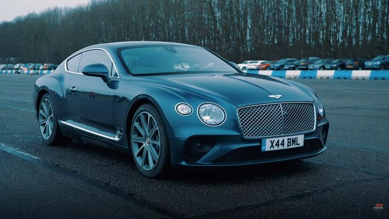 Can the Bentley Continental GT V8 beat the McLaren GT in the quarter mile? - image 884127