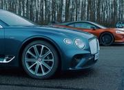 Can the Bentley Continental GT V8 beat the McLaren GT in the quarter mile? - image 884129
