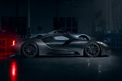 It takes three weeks to build the Ford GT Liquid Carbon