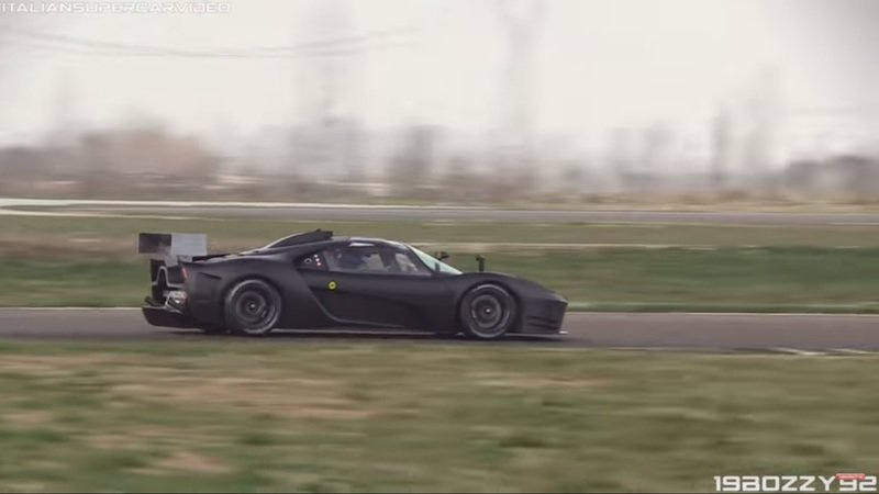 Glickenhaus SCG 004C Spotted Testing, Looks Ready to Rumble