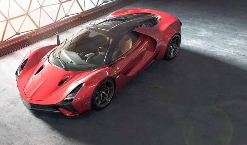 How's This For a Ferrari LaFerrari Successor?