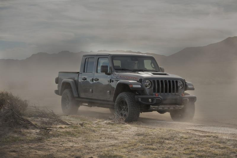 2020 Jeep Gladiator Mojave And High Altitude Special Editions Exterior - image 884887