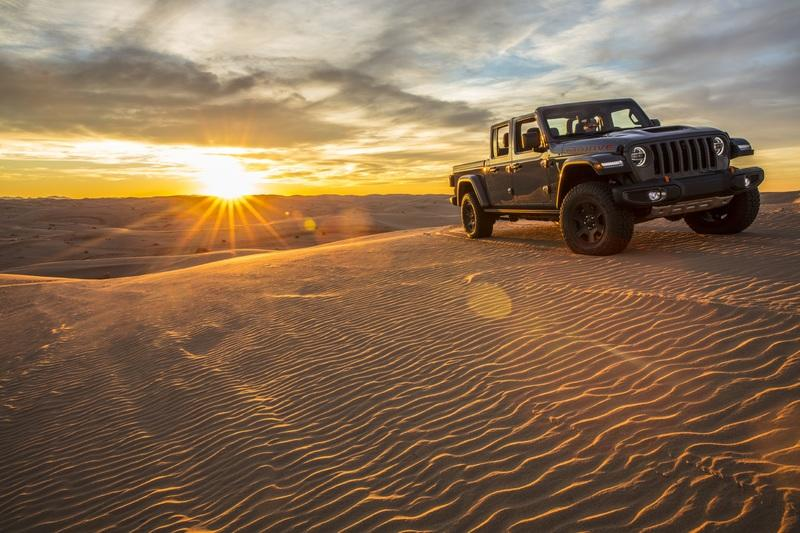 2020 Jeep Gladiator Mojave And High Altitude Special Editions Exterior Wallpaper quality - image 884893