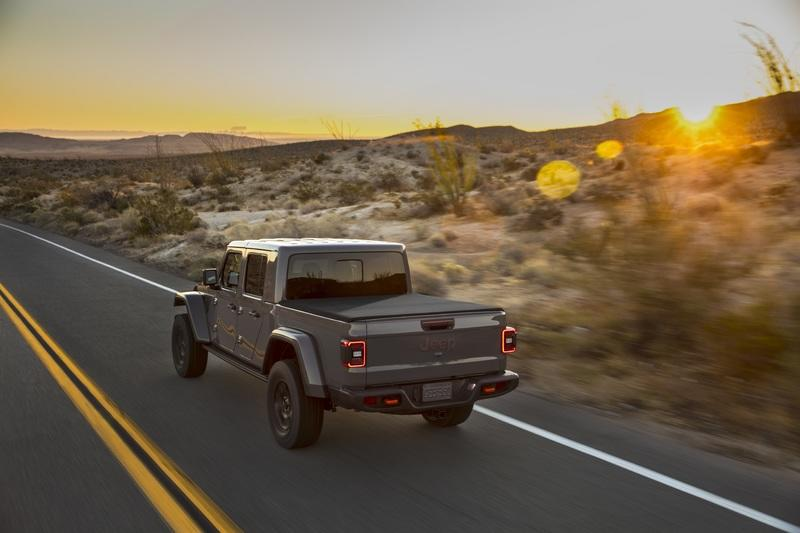 2020 Jeep Gladiator Mojave And High Altitude Special Editions Exterior - image 884858