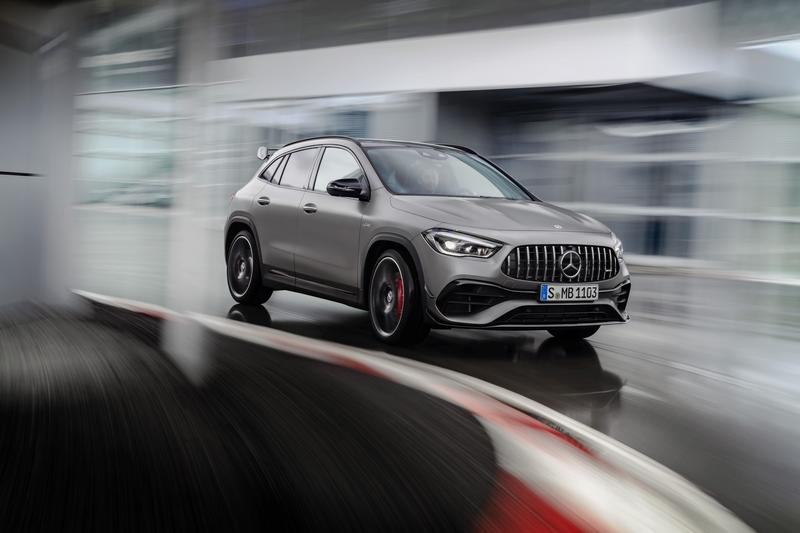 2021 Mercedes-AMG GLA 45 4MATIC+