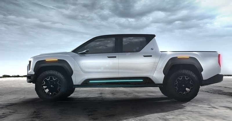 Nikola's Badger Pickup Truck Comes Back To Haunt The Tesla Cybertruck Exterior - image 885897