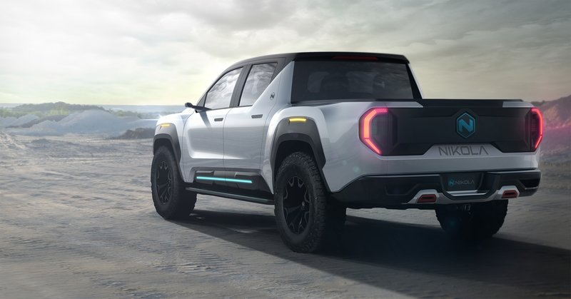 Nikola's Badger Pickup Truck Comes Back To Haunt The Tesla Cybertruck Exterior - image 885900