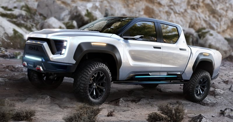Nikola's Badger Pickup Truck Comes Back To Haunt The Tesla Cybertruck Exterior - image 885896