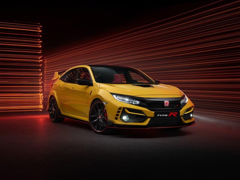 Quick, Grab This Special 2021 Honda Civic Type R While It's Hot