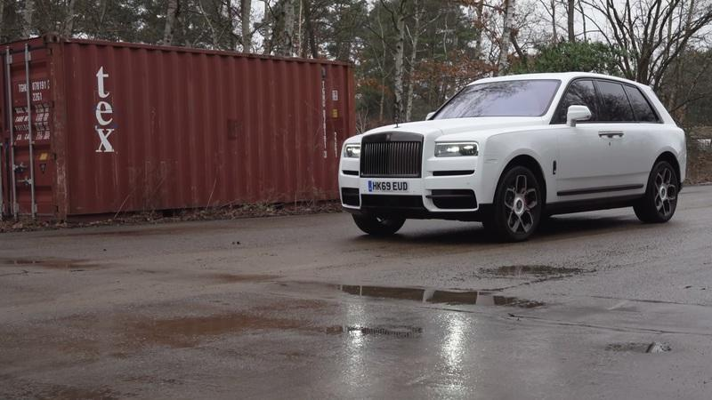 Can You Drift in the Rolls-Royce Cullinan?
