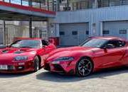 Supras Collide as Supercar Blondie Pits The 2020 A90 Supra Against Its A80 Older Brother - image 885116